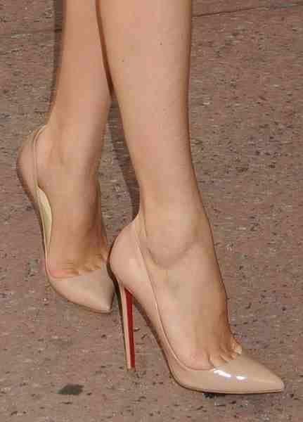Nude stilettos! If I were ever to spend the cash, it would be on these!