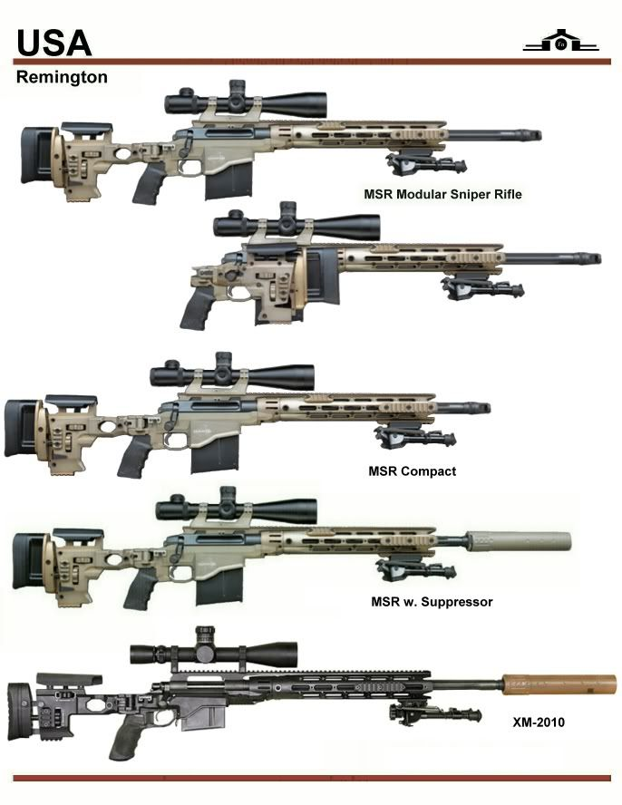 Remington MSR Sniper Series also known as the XM2010...