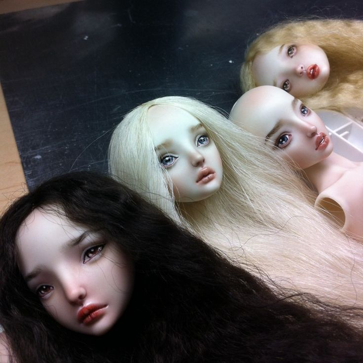 New dolls for another Vogue feature by Marina Bychkova.