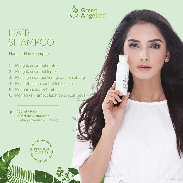 Regrowth Shampoo Green Angelica