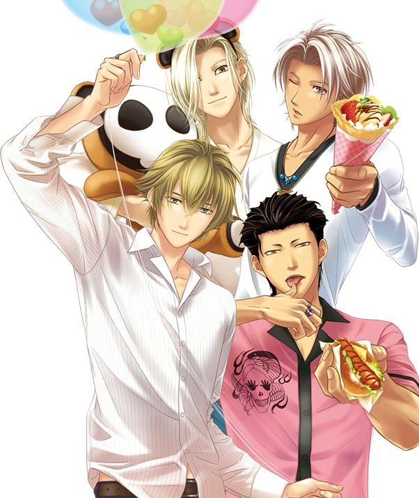 TokiMemo Girl's Side series - main boys