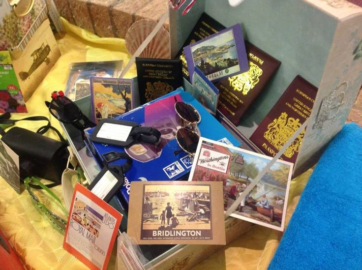 #Passports #Cameras #old #photographs #memories of past holidays, all in one rummage box at Birch Green Care Home.