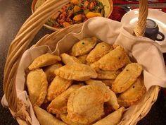 Pereshkes de patata y queso, receta de Ucrania