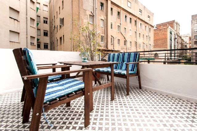 Cement tiles - Project Retrome Barcelona - Hotel