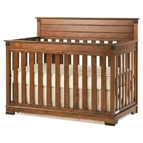 Classic lines and modern materials combine to inspire the Redmond™Collection. Customers will love the versatility and style of the rich cherry finish and sturdy, craftsman-era hardware, which create a unique, timeless collection that will impress for years to come. The Redmond 4-in-1 Convertible Crib grows with your child while converting into a crib, toddler bed, day bed, and full size bed. It features all wood construction, non-toxic finish, and comes with strong metal m...