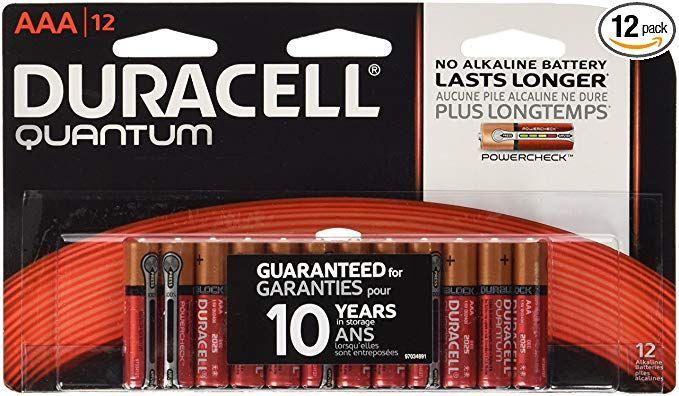 Duracell Quantum Alkaline Aaa Batteries 12 Count Duracell Aaa Batteries Quantum