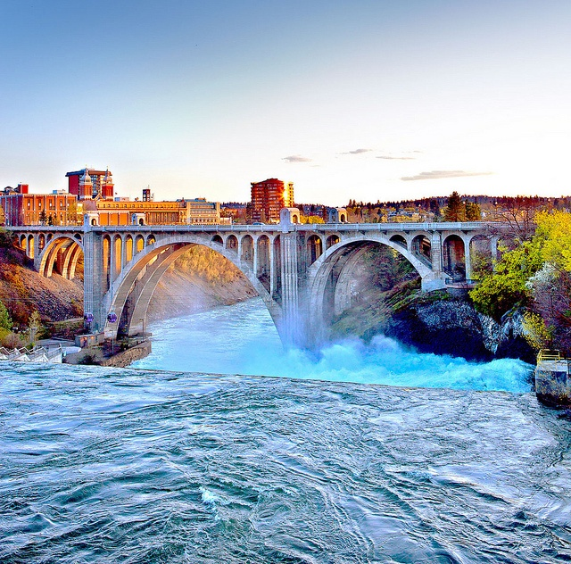 Spokane Falls by Visit Spokane, via Flickr