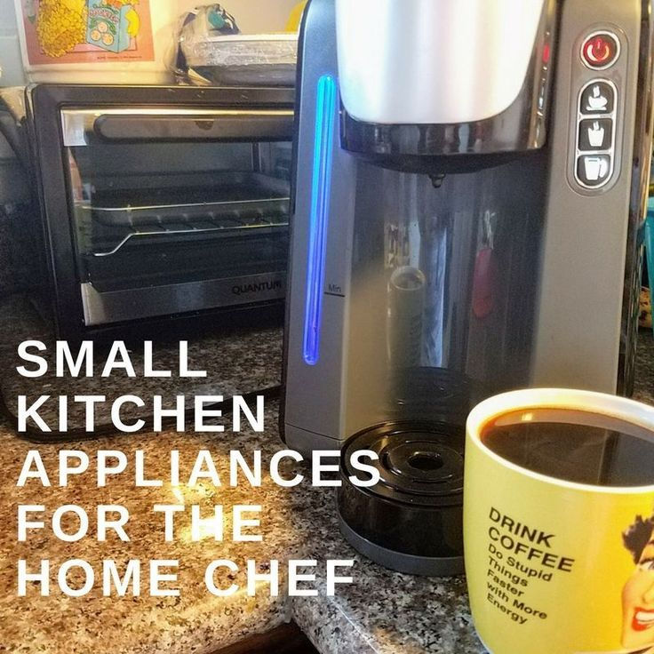 Small appliances in the home kitchen are needed to help with the day to day cooking. So why not have some cool products to help with your weekly cooking.  Now I wouldn't call myself a CHEF, but I do cook six days out of the week.  I need one day off! Recommended Kitchen Appliances for...Read More #HomeAppliancesThoughts