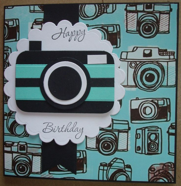 159 best Cards cameras images – Photographer Birthday Card