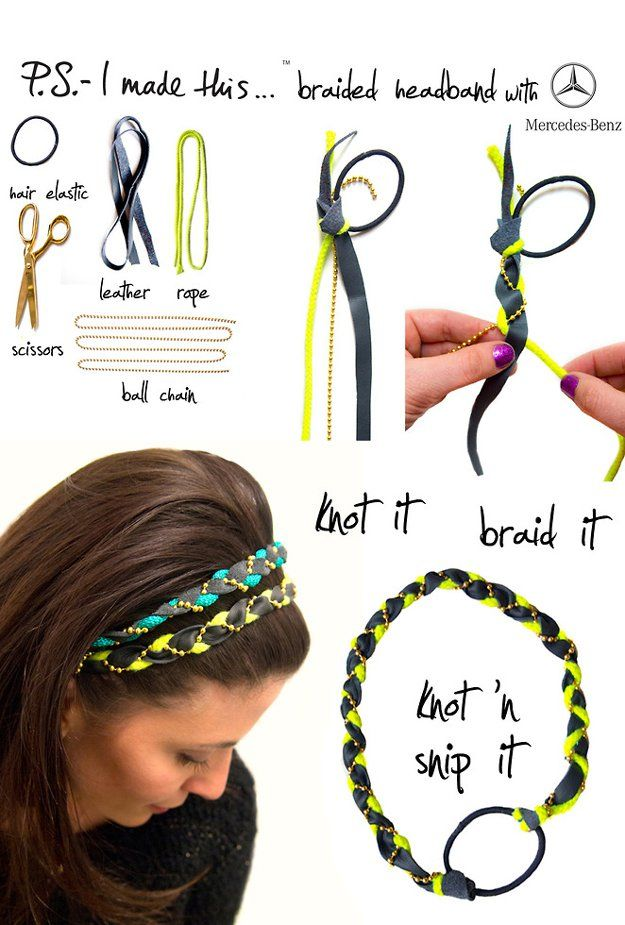DIY Headband. Balada.