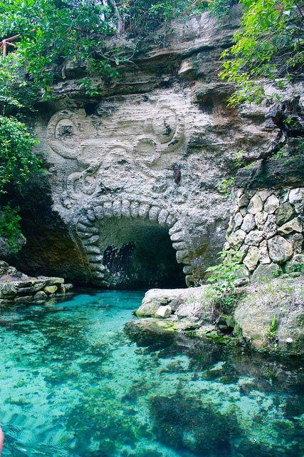 Riviera Maya, Xcaret, Mexico  just south of playa del carmen