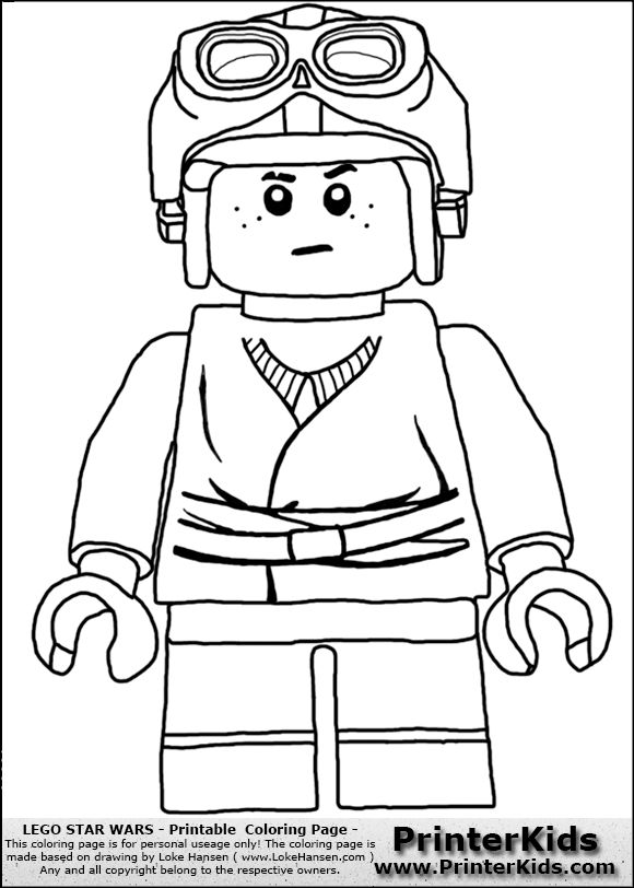 Lego star wars anakin boy 580 812 pixels for Lego yoda coloring pages