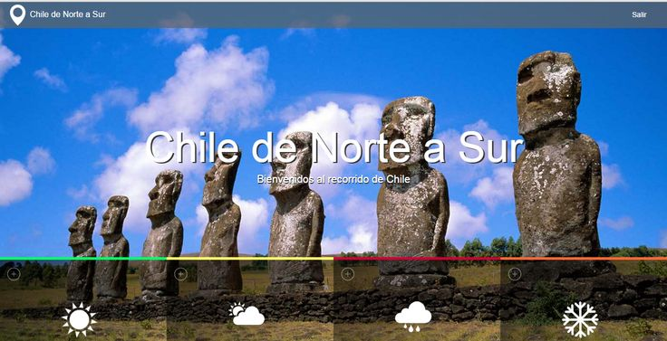 Chile Norte-Sur ver---> http://www.nicosanmartin.cl/ZonasChile/