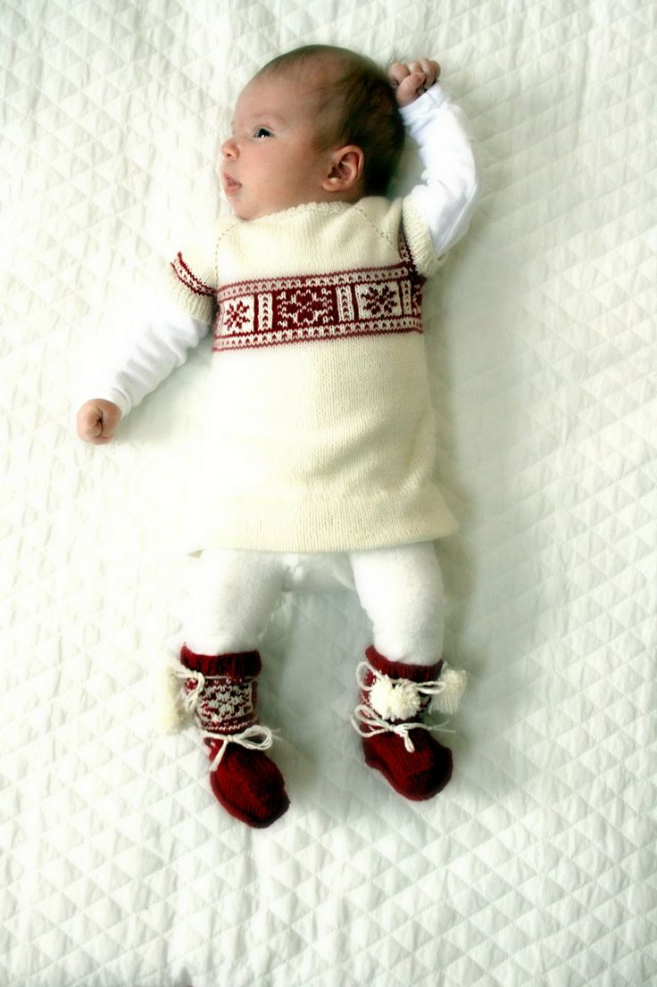 ready to dance around the christmas tree... would be so cute for a first Christmas outfit
