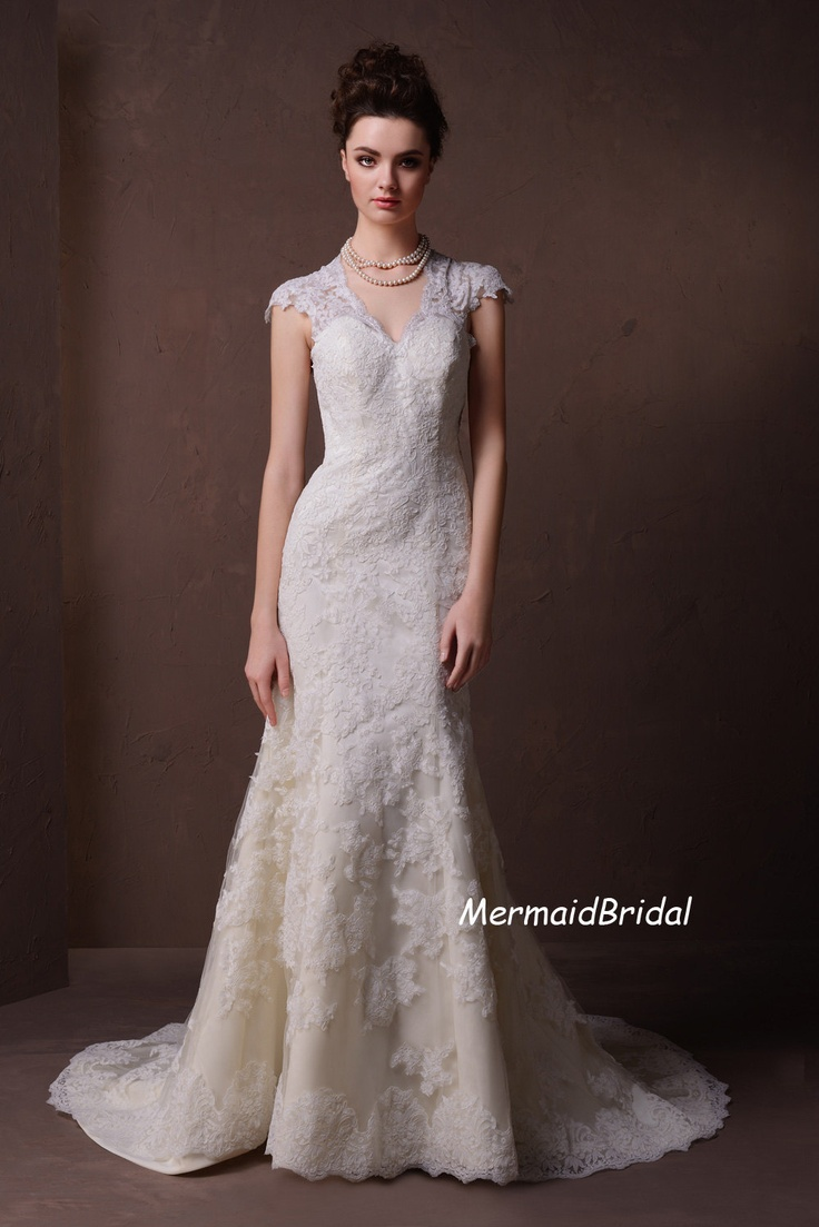 Best 301 Mermaid Lace Wedding Dresses Images On Pinterest