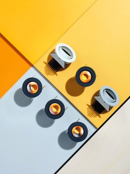 Product photography for lighting brand FLOS by Carl Kleiner, Sweden