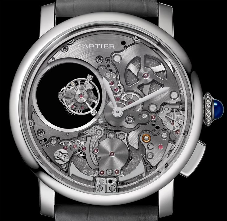 Cartier Rotonde De Cartier Minute Repeater Mysterious Double Tourbillon Watch Watch Releases