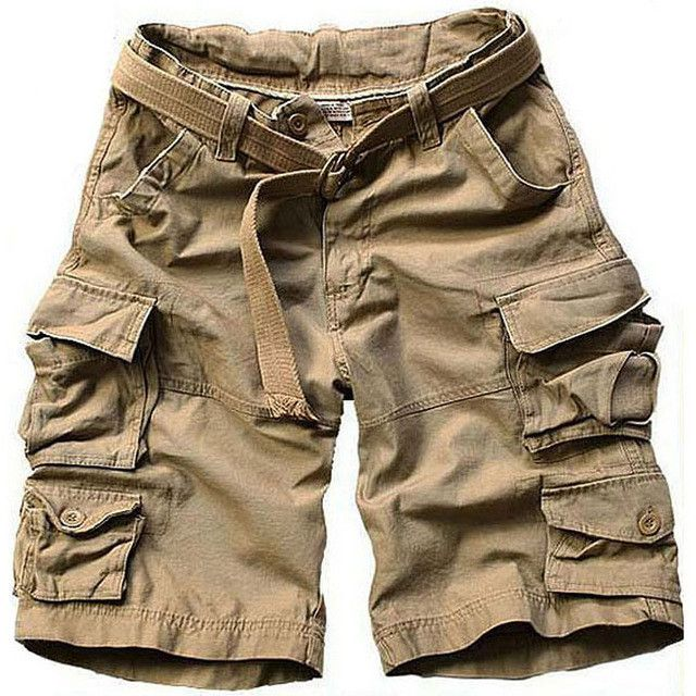 new fashion summer style mens camouflage shorts cotton casual ...