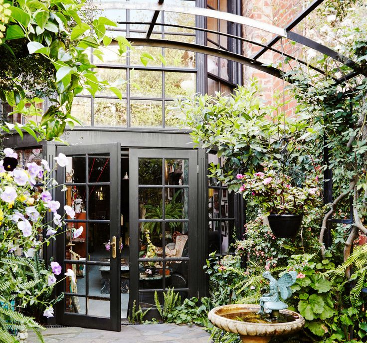 melbourne courtyard garden out the back pinterest