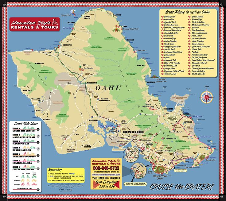 Beach House For Rent Oahu: 60 Best Images About Hawaiian Maps On Pinterest