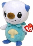 "Name: Oshawott Beanie Babies Plush Doll Figure Manufacturer: Ty Series: Pokemon Release Date: November 2011 For ages: 4 and up Details (Description): Exclusive Oshawott 6"" Soft Plush Toy"