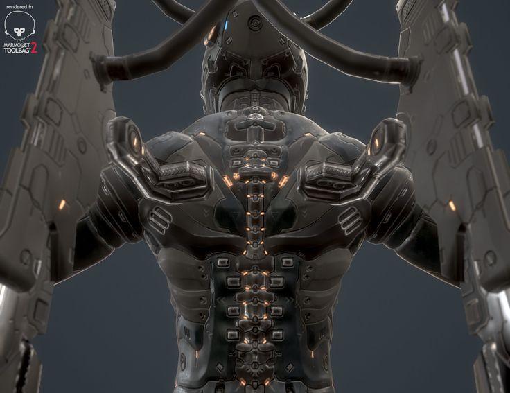 ArtStation - Sci-Fi Soldier, Ika _run