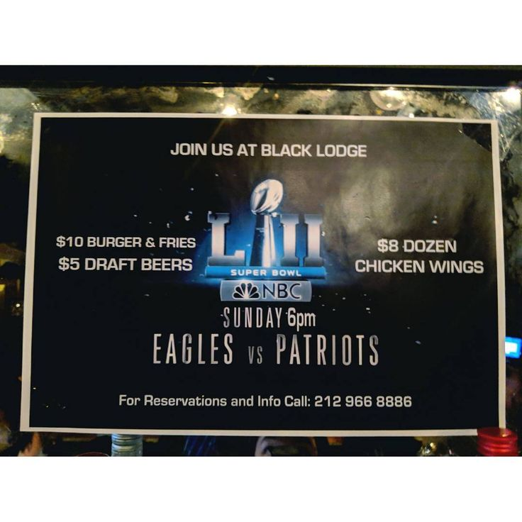 I'll be bartending tomorrow night! Come hang out and watch the game with me :) I'm rooting for the @patriots because #nevereagles #giants #bigbluewreckingcrew #gogiants #nyc #football #nfl #nfc #superbowl #bartender #nyc #elimanning #tombrady