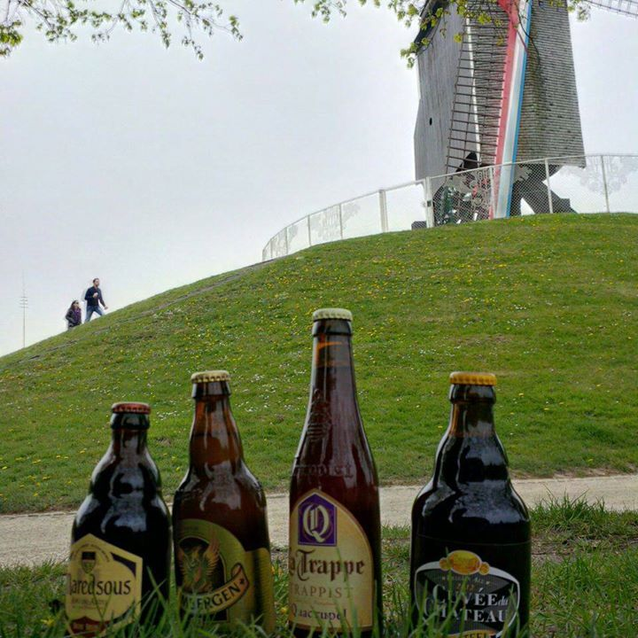 Wind mills and Belgian beer - we couldn't get more traditional right?
