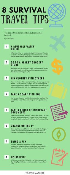 These tips are usually always forgotten specially for unplanned and hurried travel plans. I seem to always forget one thing on this list.…