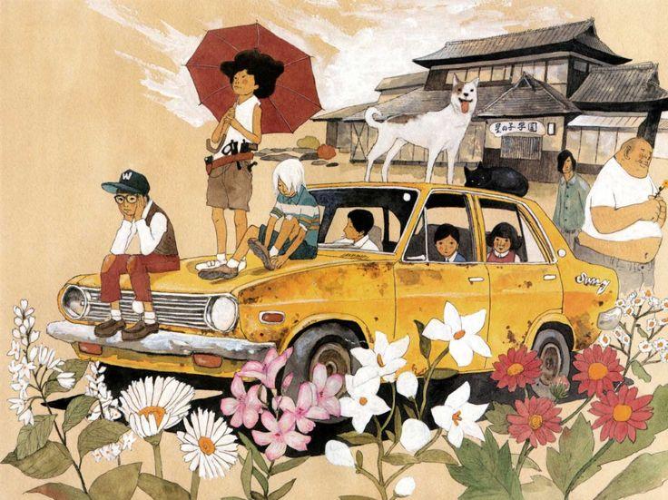 Matsumoto Taiyo: Par Taiyou, Taiyo Matsumoto松本大洋, Taiyō Matsumoto, The Artists, Illustration, Taiyou Matsumoto, Sunny Matsumoto, Matsumoto Taiyou, Matsumoto Sunny