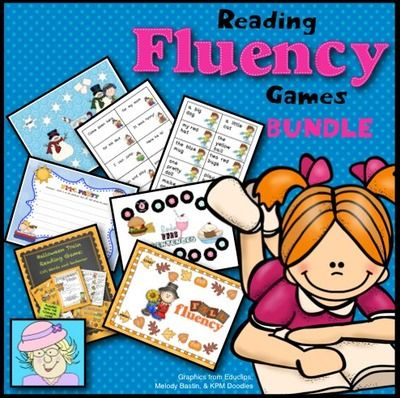 Reading Fluency Games Bundle from TeacherTam on TeachersNotebook.com -  - Help your students become fluent readers! This BUNDLE contains 10 fluency games that are sold separately in my store.  $