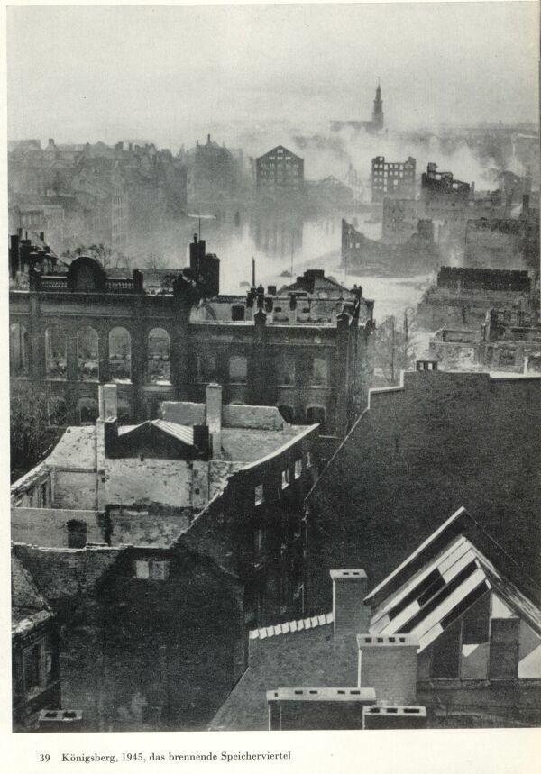 Königsberg Pr.           Anfang 1945 - .... das Ende Königsbergs