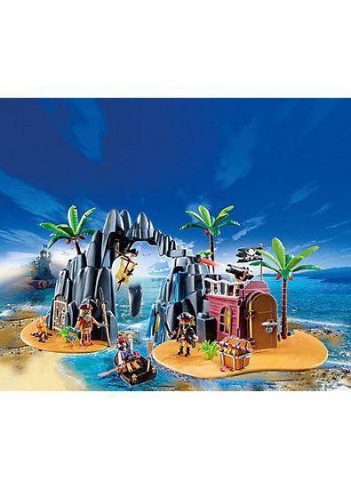 PLAYMOBIL 6679 Pirate Treasure Island