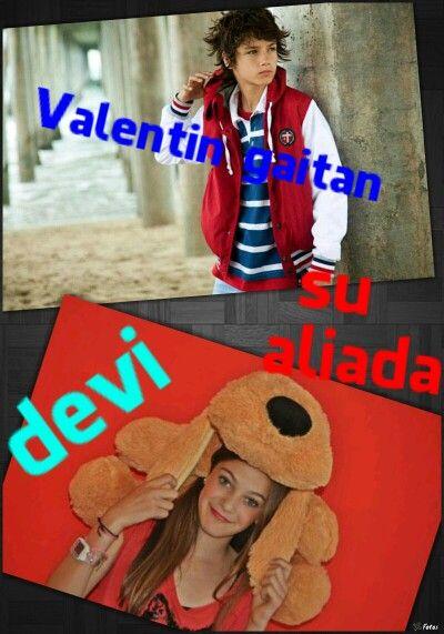 Valentin y su aliada devi
