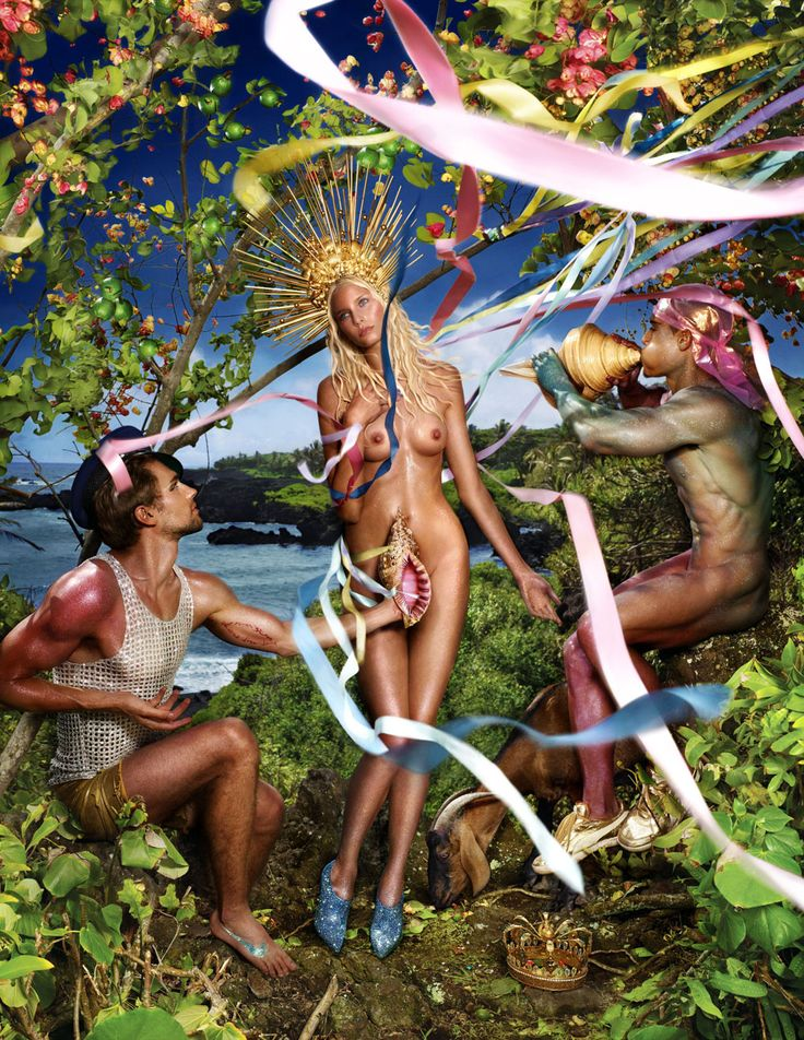 David LaChapelle: Rebirth of Venus, 2009 Courtesy David LaChapelle Studio