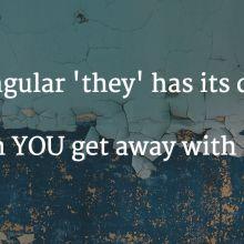 singular they