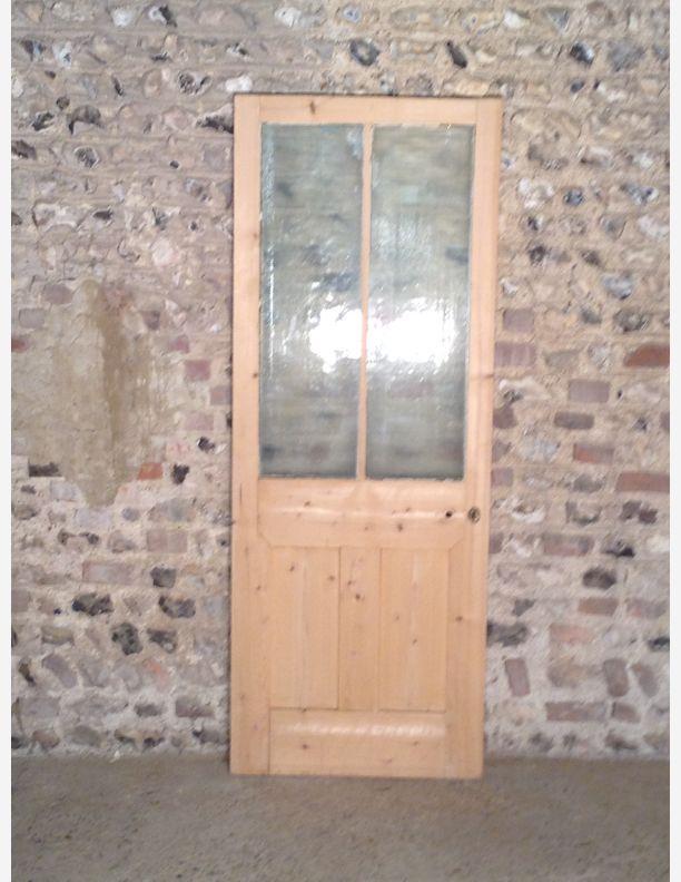 351 - half Glazed Victorian internal door