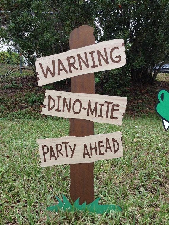 La valeur de dinosaure Birthday Party Decoration par CSCuteCrafts