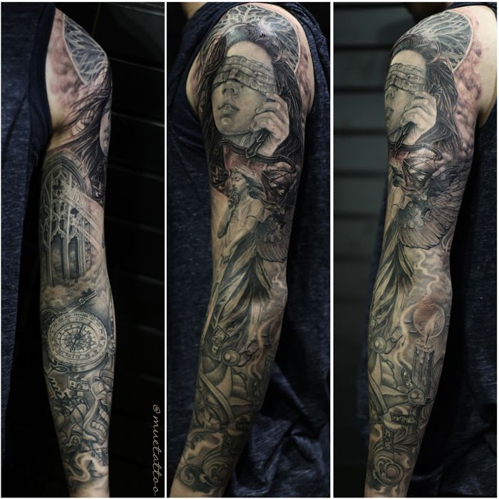 Long Sleeve Tattoo Sleeve For Black Men: 50 Best Images About Tattoo On Pinterest