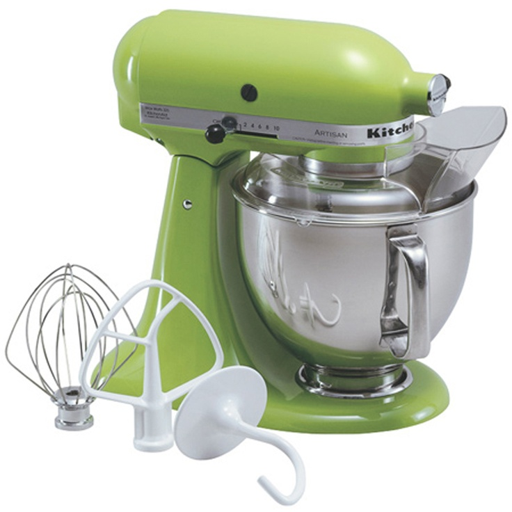 KitchenAid artisan green apple color footed mixer - **50$ mail in rebate** (April 5 - May 16)