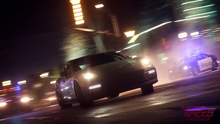 Police Car Chase Need for Speed Payback 1920x1080