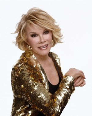 """Joan Rivers  RIP  2014    """"When you make someone laugh, you give them a small vacation""""   Joan Rivers"""