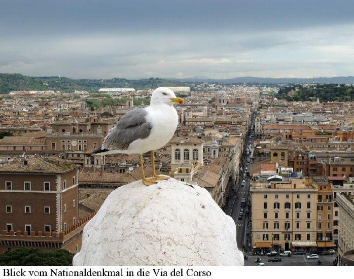 Sightseeing in Rom und als Abschluss eine Schießerei.