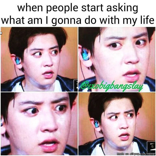 what i have in mind is how would i tell them i wanna spend my life with exo forever...