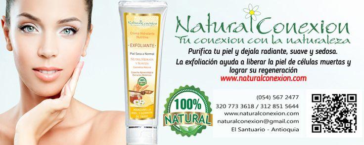 Te invitamos a conocer los puntos de venta que tenemos en el departamento de Antioquia, puntos especiales para que adquieras todos los productos Natural Conexión. http://www.naturalconexion.co/antioquia.html