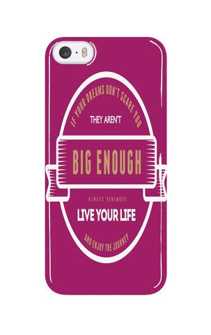 Mobile Case - iPhone - Samsung - Tablet - If your dreams don't scare you they aren't big enough