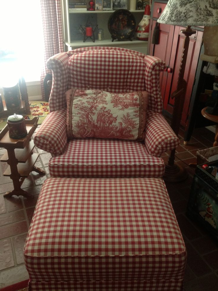 I Have Been Looking All Over For A Red And White Gingham