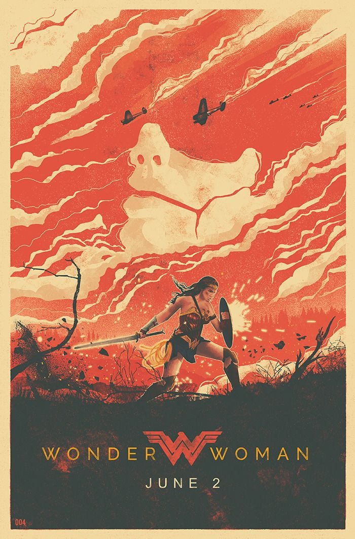 Wonder Woman Illustration - Created by The Brave Union