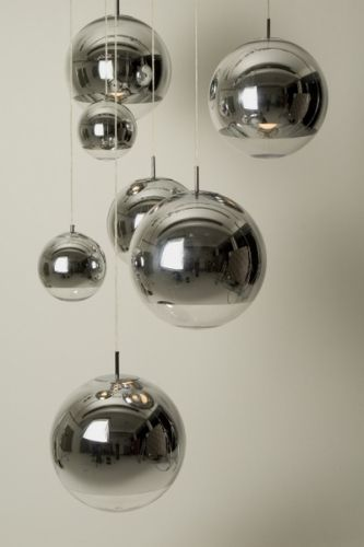 Tom Dixon Mirror Ball Pendel - Taklamper-Hengelamper - Belysning MUST HAVE FOR THE STAIRWAY CEILING