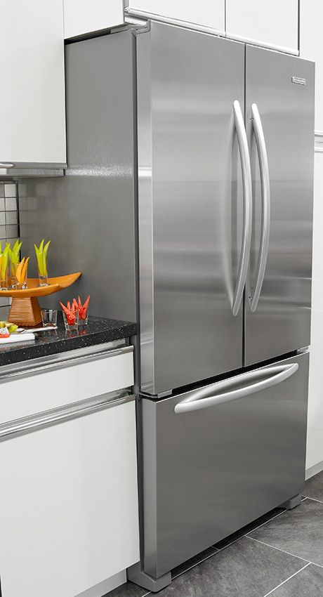 The New KitchenAid Counter Depth French Door Refrigerator Is The Industry  First 72 Inch Counter Depth Refrigerator That Offers Extra Space On The  Inside And ...